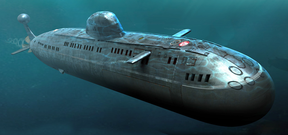 картинки подводной лодки